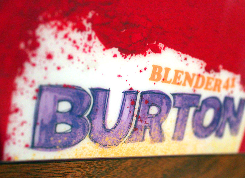 Burton Blender 2012 —Process