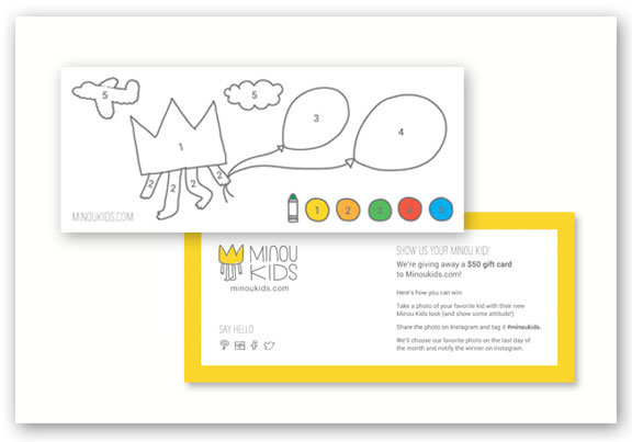 minoukids.com Postcard